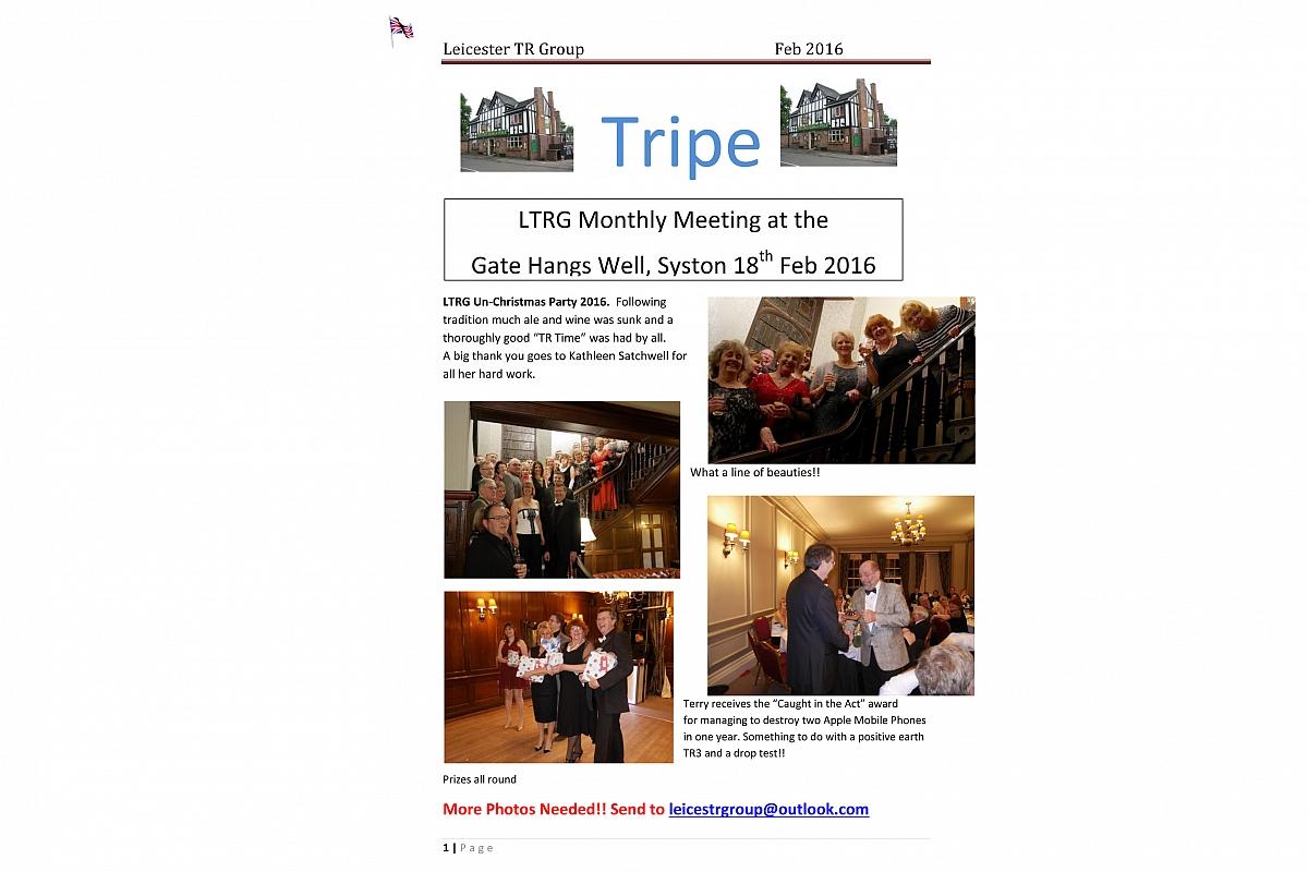 TRipe February 16