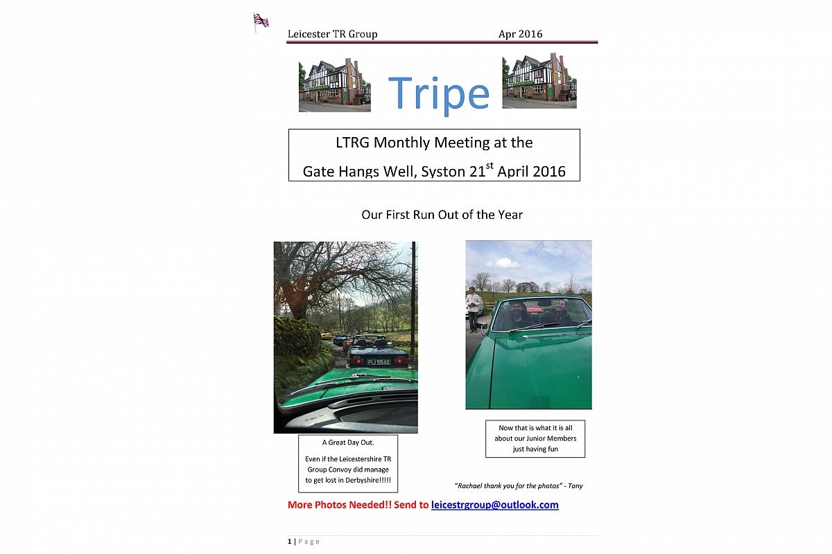 Tripe April 2016