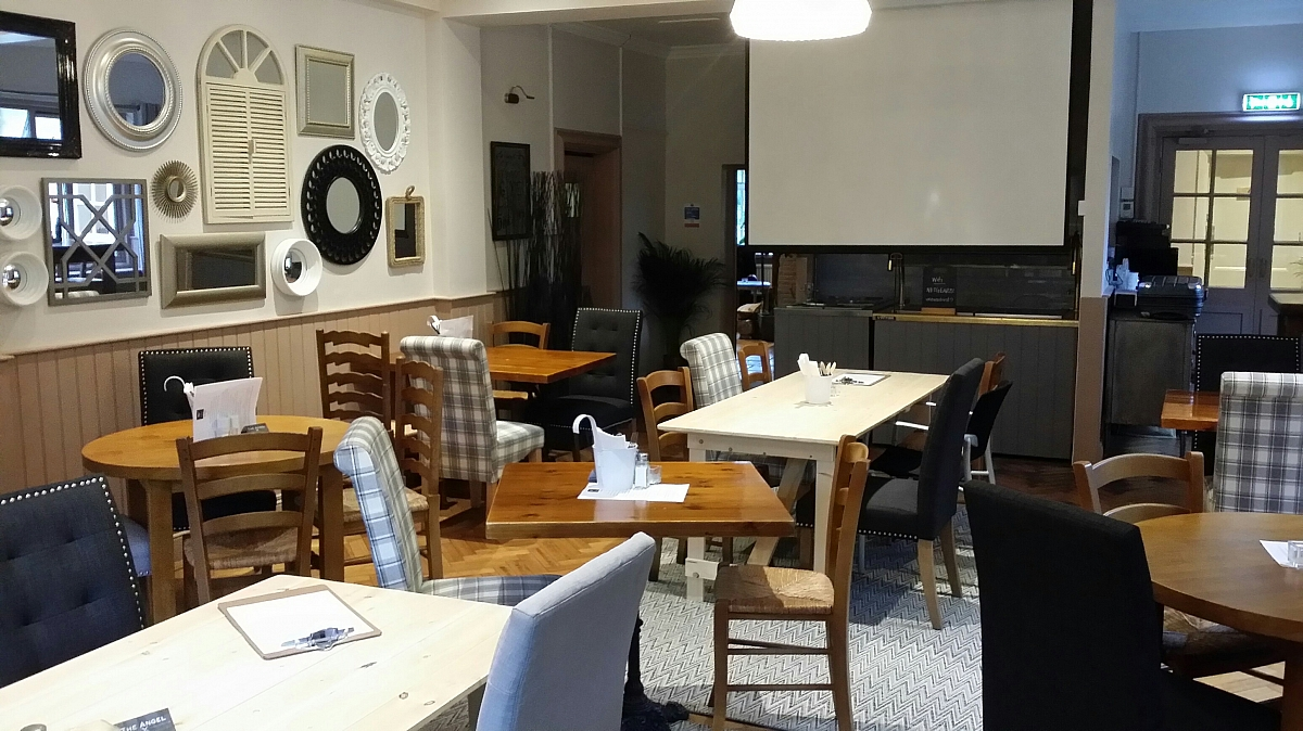 The Angel, Kennet Valley TR Groups NEW venue, improves the meeting room