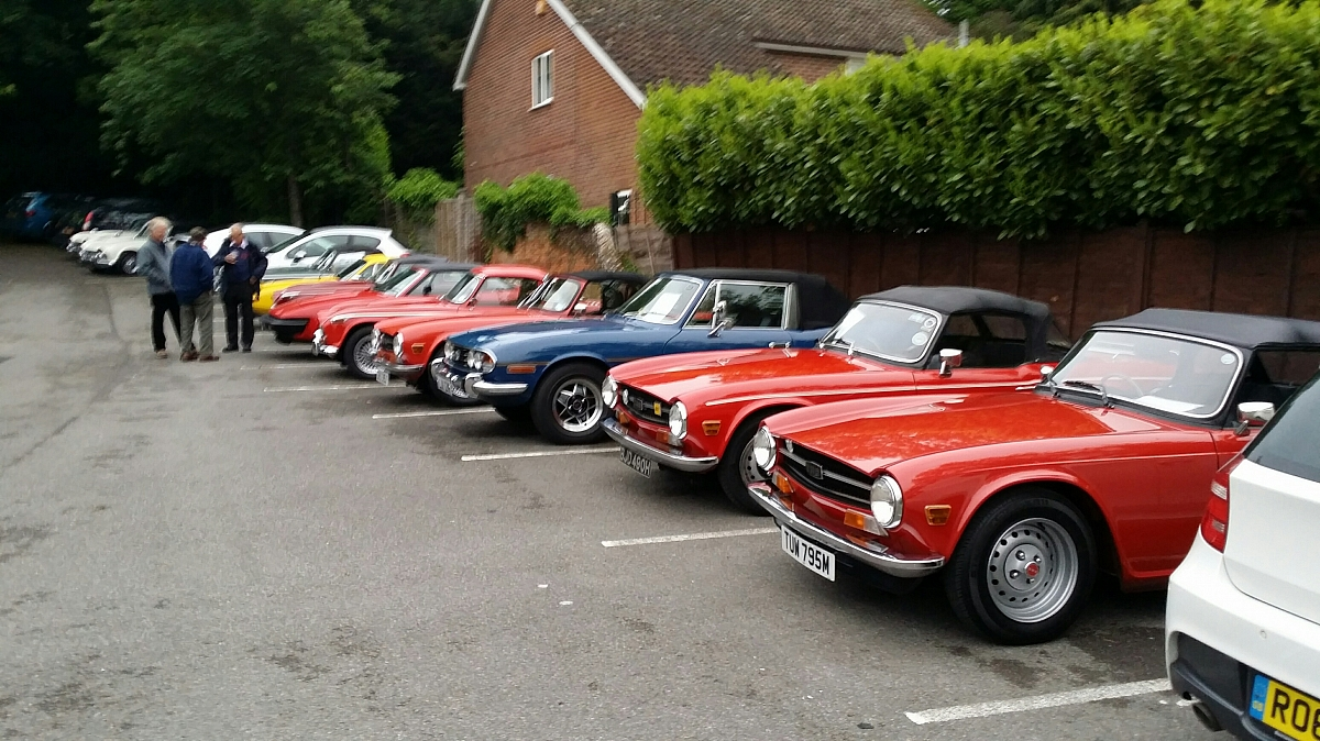 Kennet Valley TR Group - My Pride & Joy Night (formerly the KVG Clean Car Night)