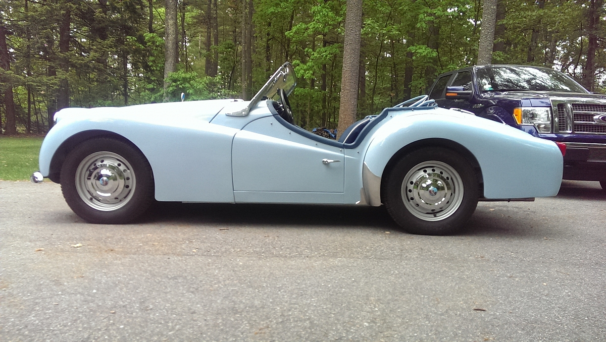 1960 TR3a Restoration - The Doors
