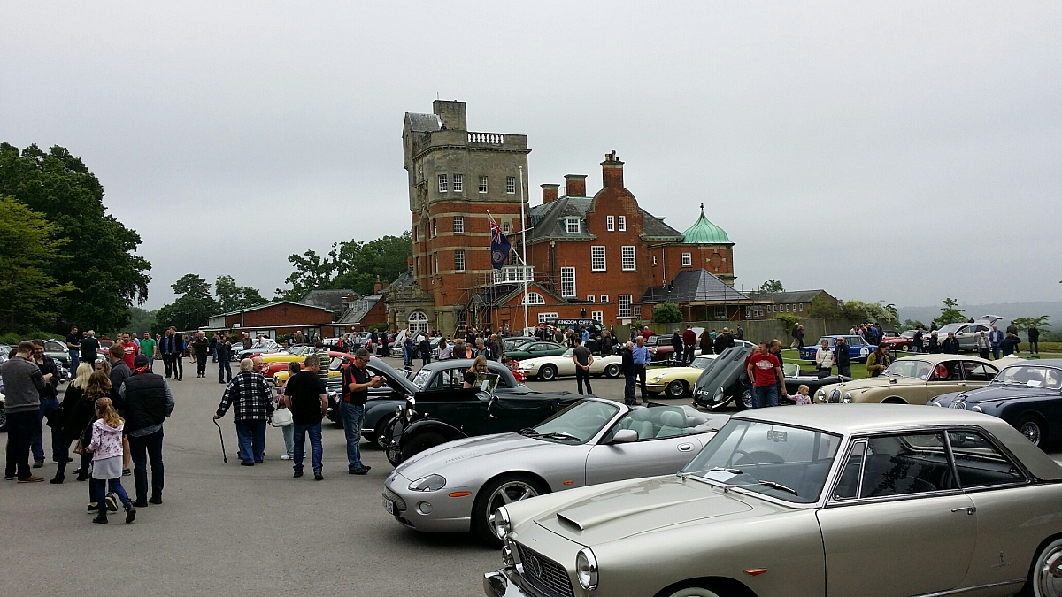 Pangbourne College Classic Car Show A Great Success