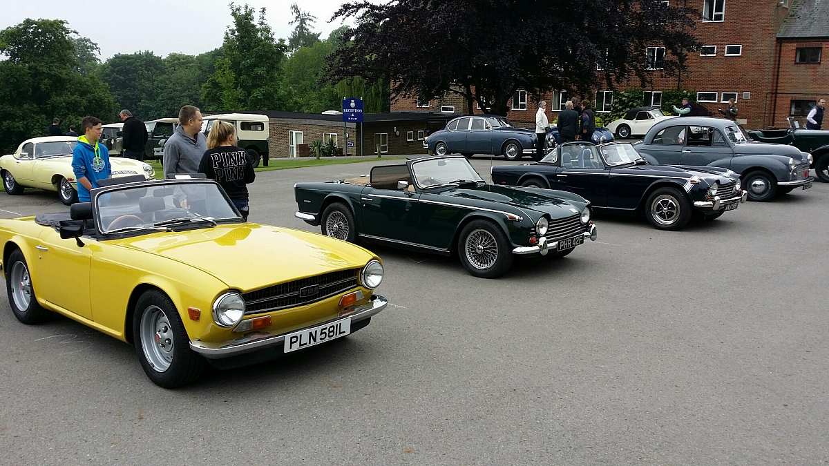 Pangbourne College Classic Car Show A Great Success - Restore a muscle car car show