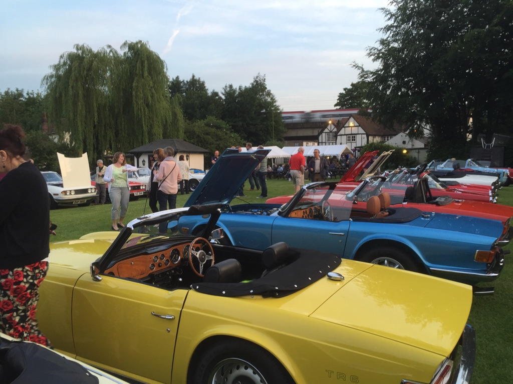 Kennet Valley attend North London Group Shiny Car Night