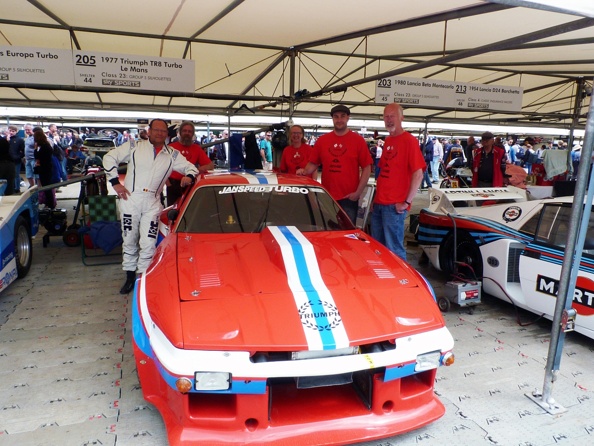 TR8 Turbo Le Mans captivates crowds at Goodwood Festival of Speed