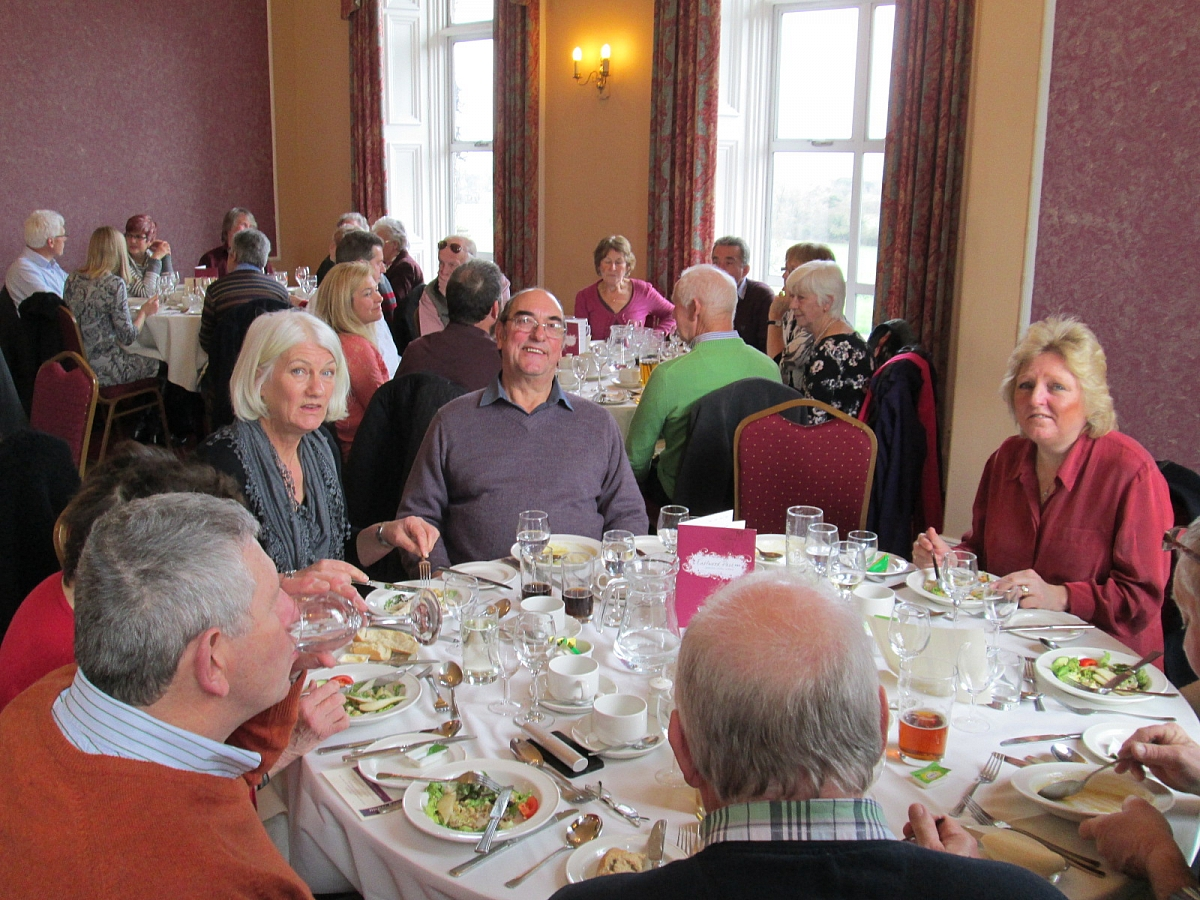Sunday Lunch at Eastwood Park 7th February 2016