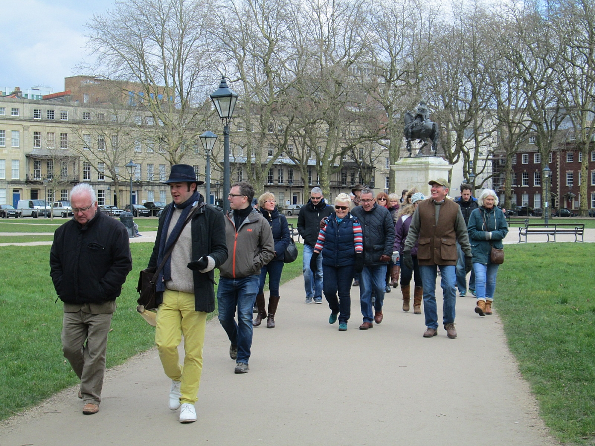 Guided Walking Tour of Bristol - 28th February 2016