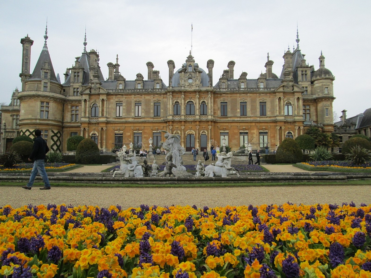 Waddesdon Manor, Buckinghamshire - 3rd April 2016