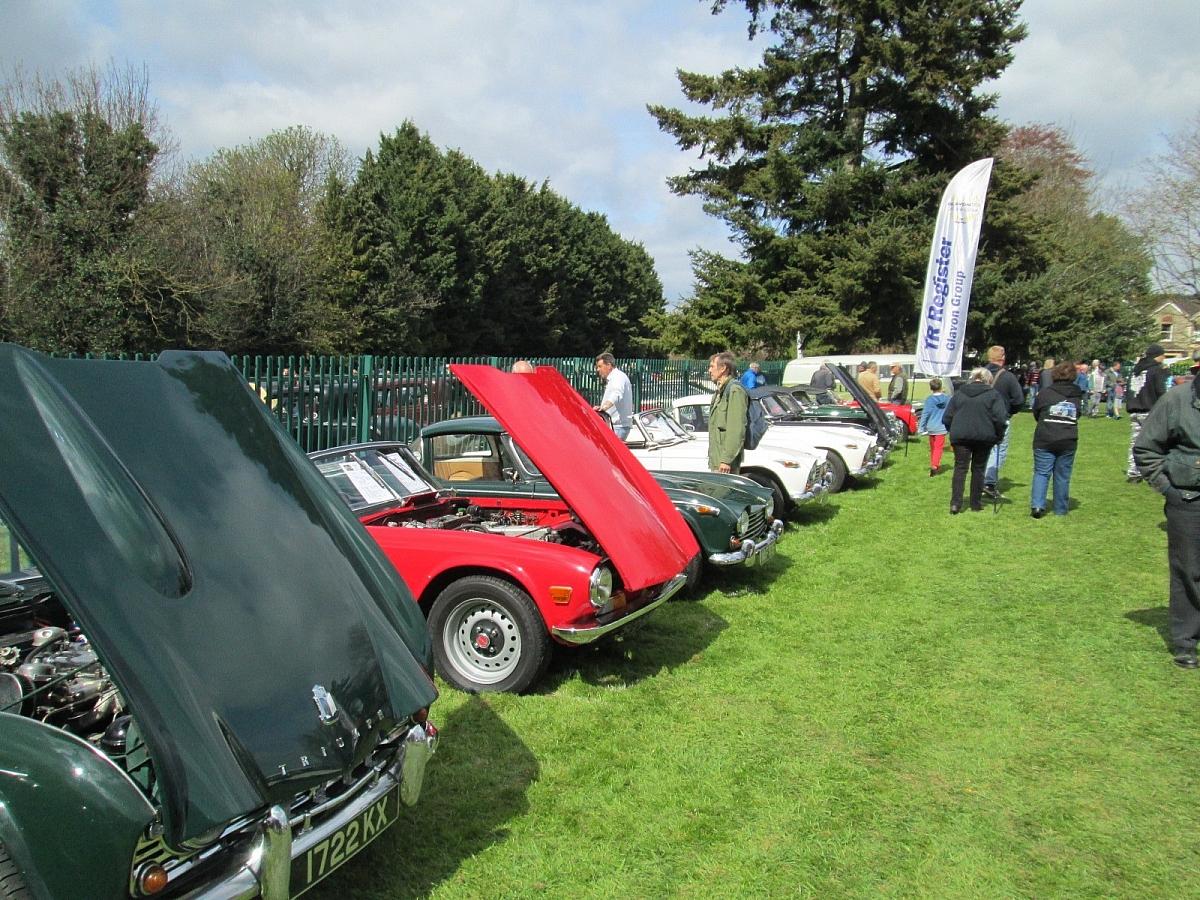 Wheelnuts Classic Car Show, Stroud - 24th April 2016