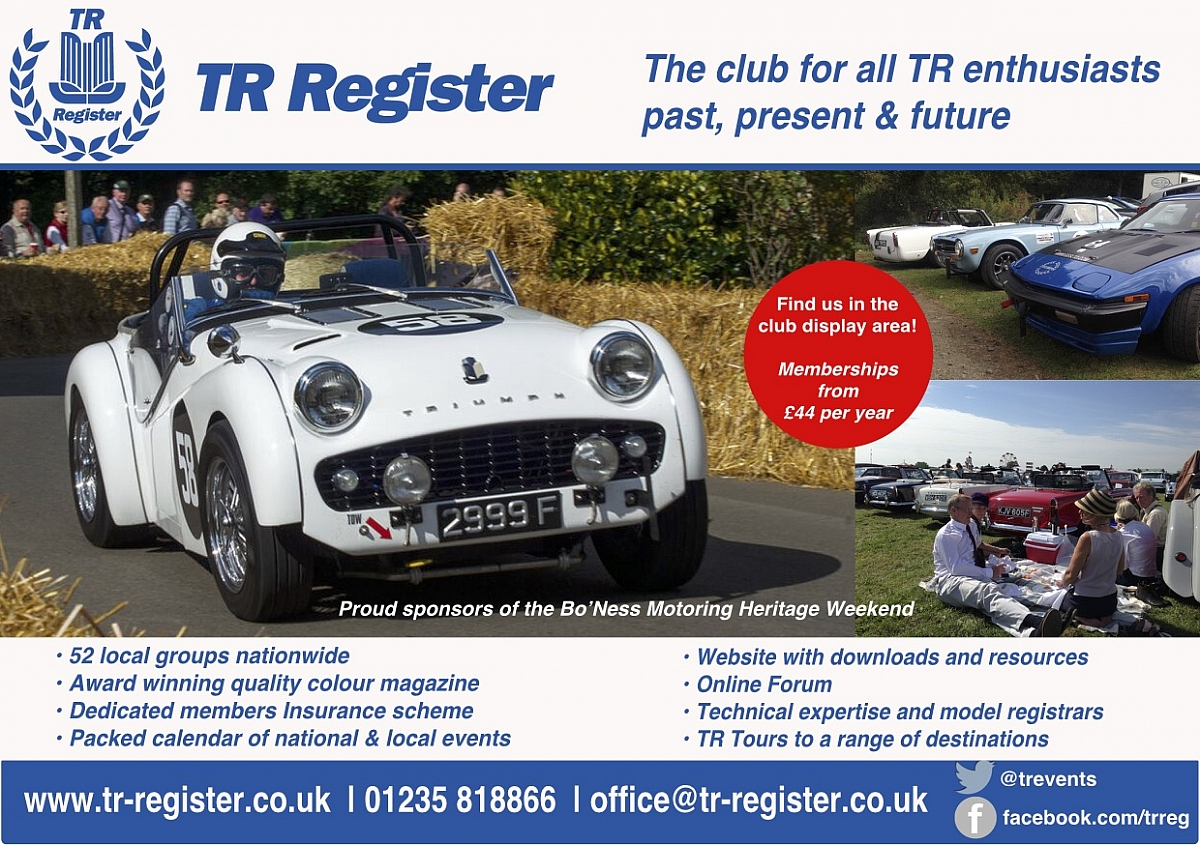 TR Register Scottish Weekend 2016