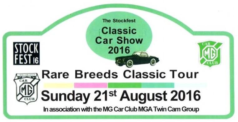Classic Car Show Stockcross Berkshire