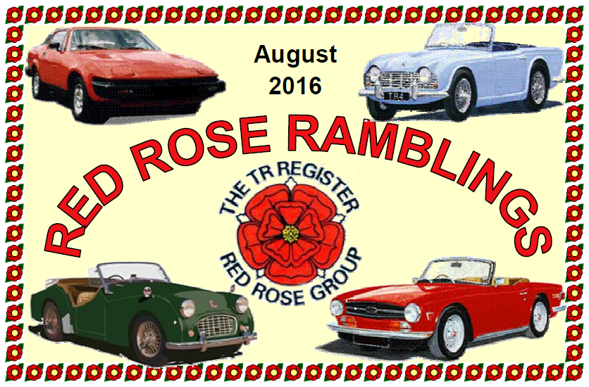 Red Rose Ramblings August 2016