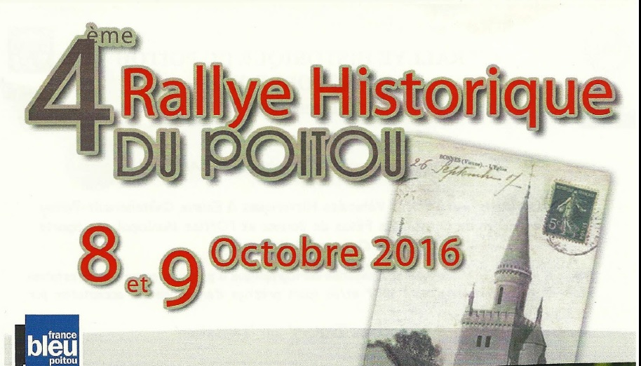 4th Historic Rally of Poitou, Bonnes, France
