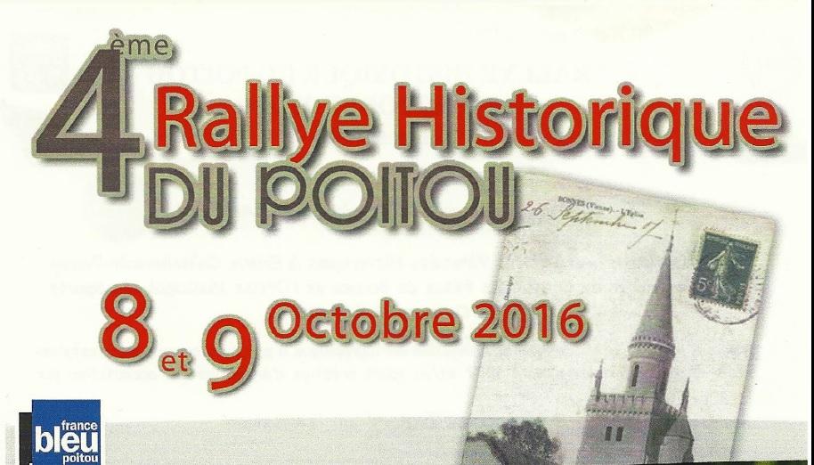 4th Historic Rally of Poitou, Bonnes, France