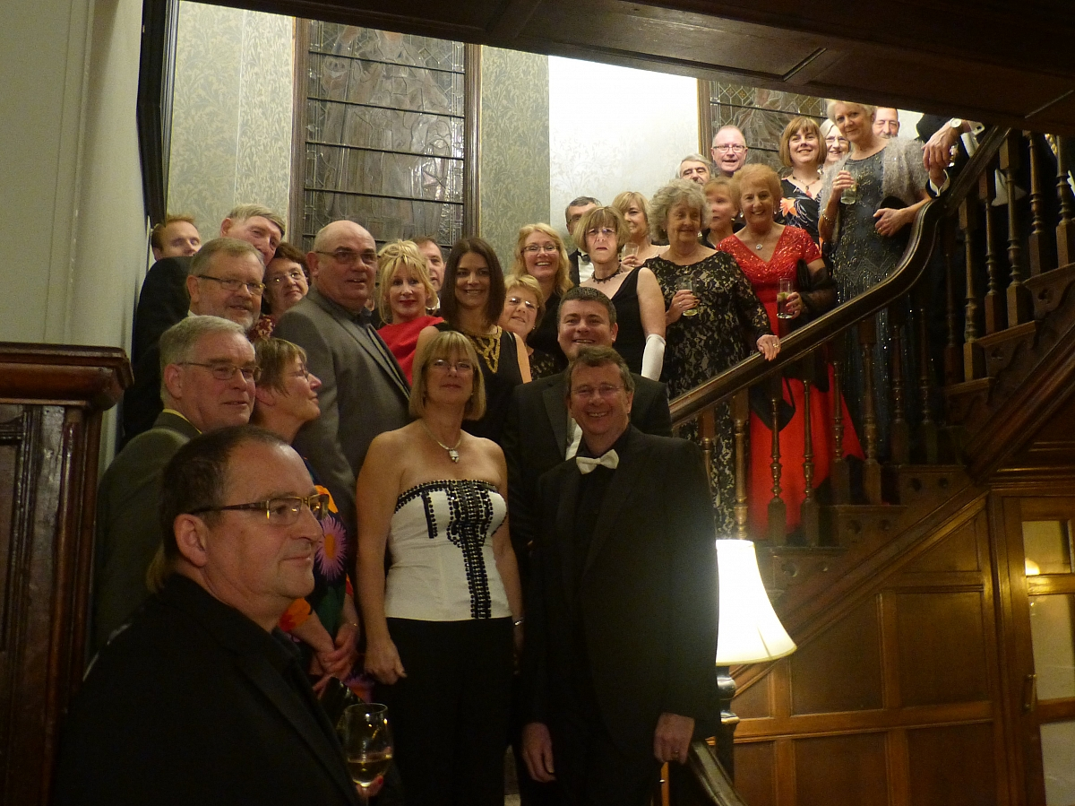 Leicestershire TR Group Unchristmas dinner