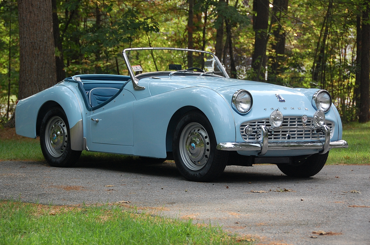 1960 TR3a Restoration - Completing the project