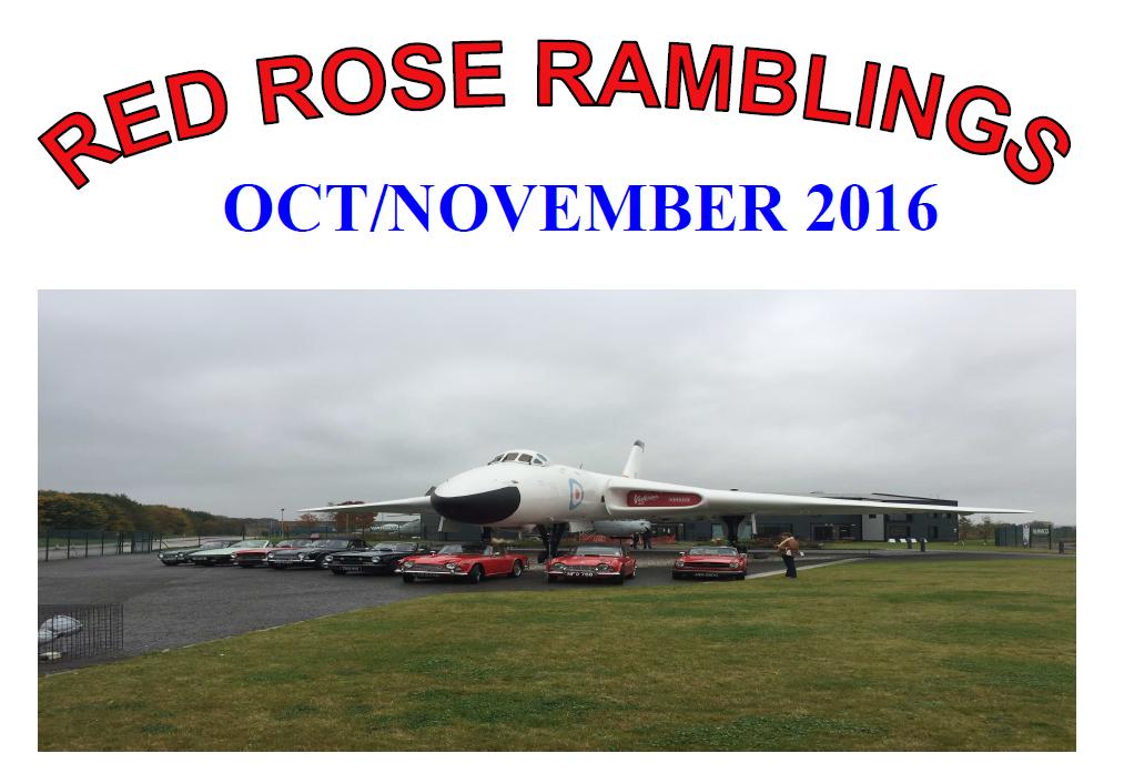 Red Rose Ramblings October-November 2016