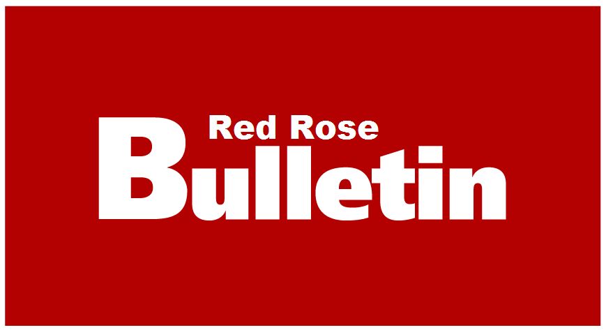 Red Rose Bulletin - August 2017