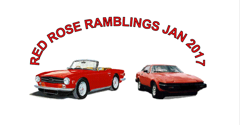 Red Rose Ramblings January 2017
