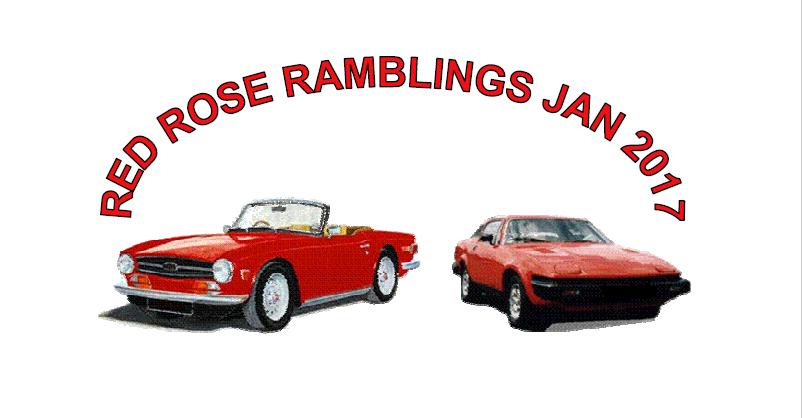Red Rose Ramblings January 2017