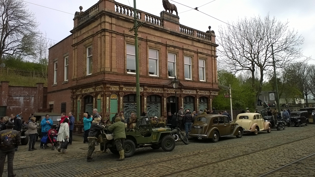 Leicestershire TR Group first run out to Crich Tramway Museum