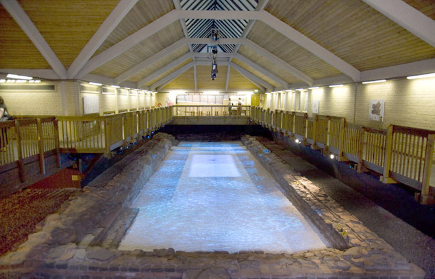 Wye Dean - Visit the Roman Baths and amphitheatre at Caerleon