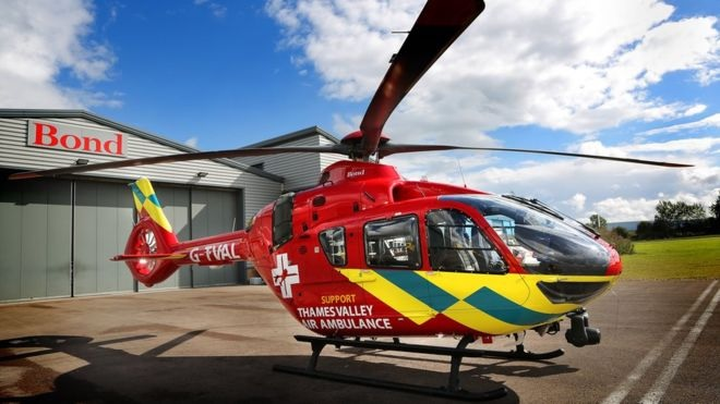 Kennet Valley TR Group April Club Night - Thames Valley Air Ambulance