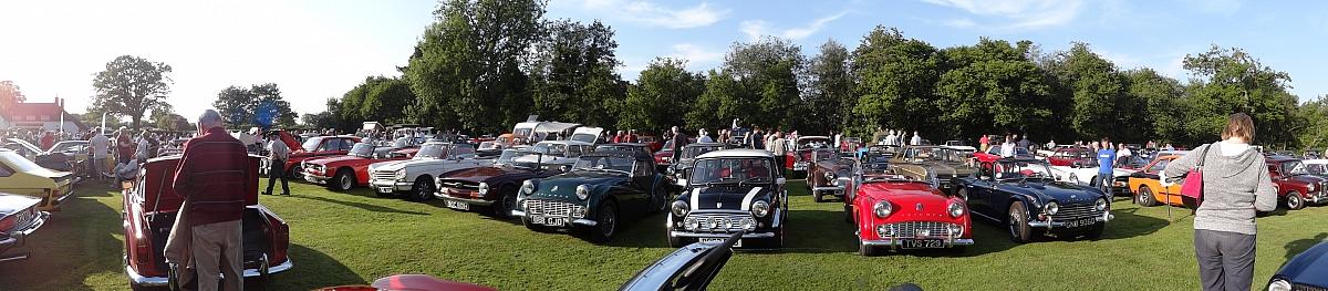 The Wharf Classic Car Meet in Memory of Simon Beresford