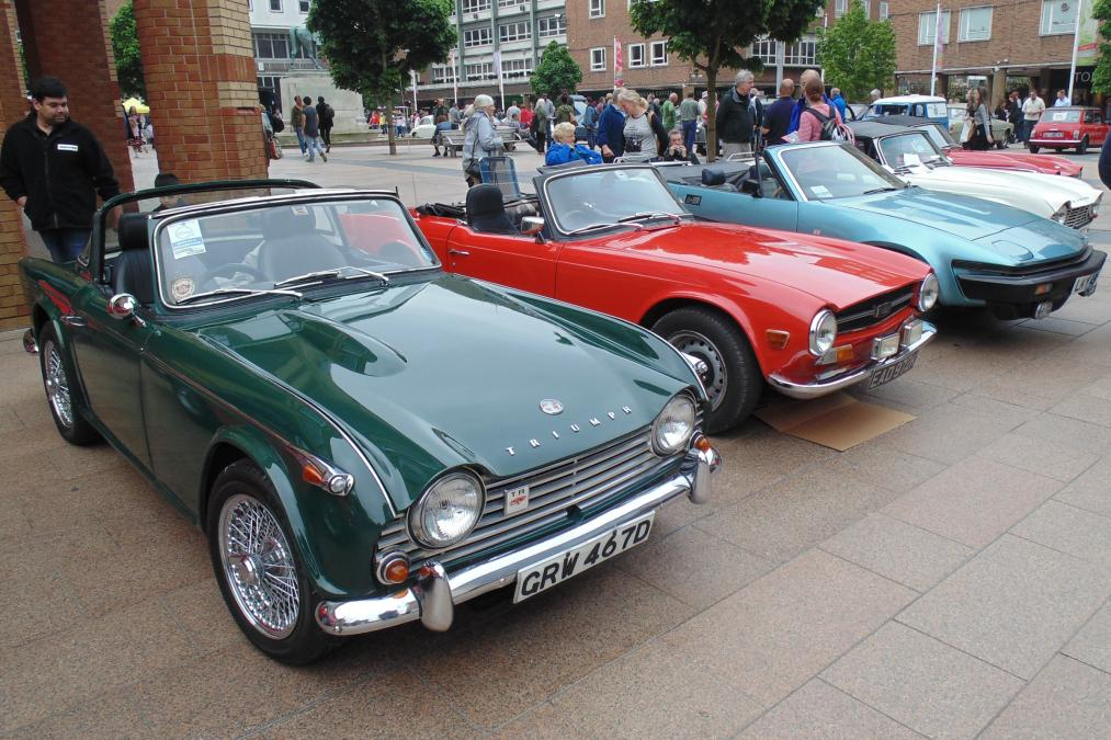 Coventry Group attending the Coventry MotoFest Festival WeekEnd