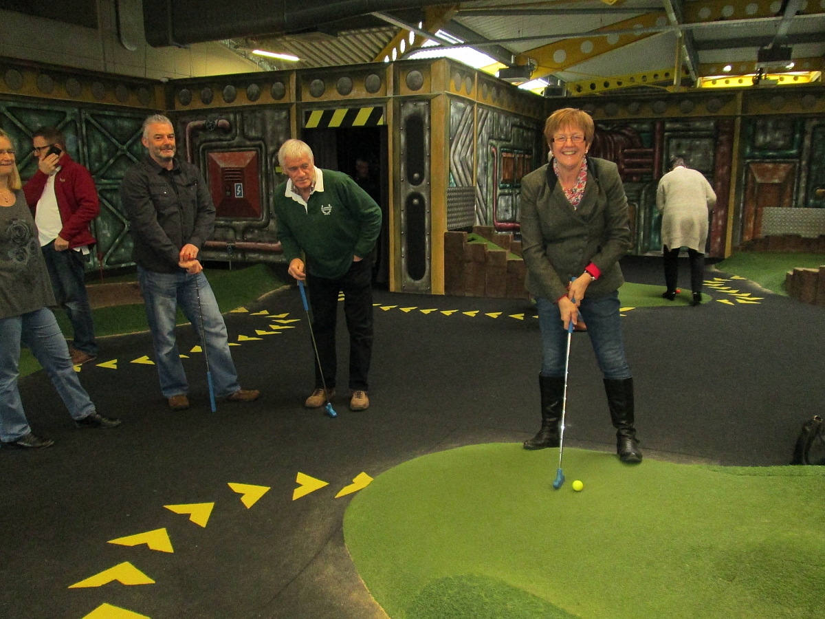 Crazy Golf with Kennet Valley Group - 19th March 2017