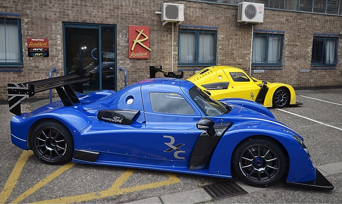 Evening visit to Radical Sports Cars Peterborough, Wed  5th July