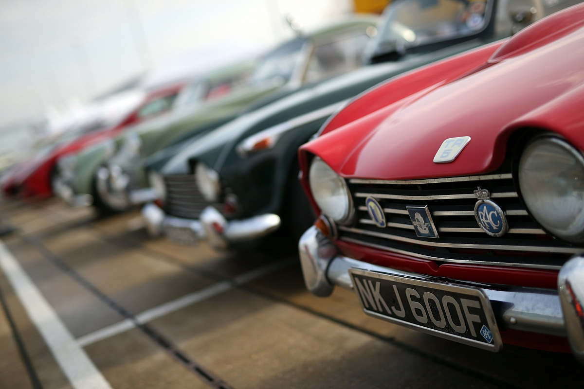 Silverstone Classic gears up to celebrate TR anniversaries