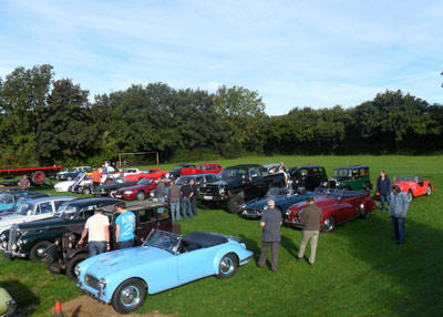 Brunel Group at Redhill Classic Car Breakfast Meet