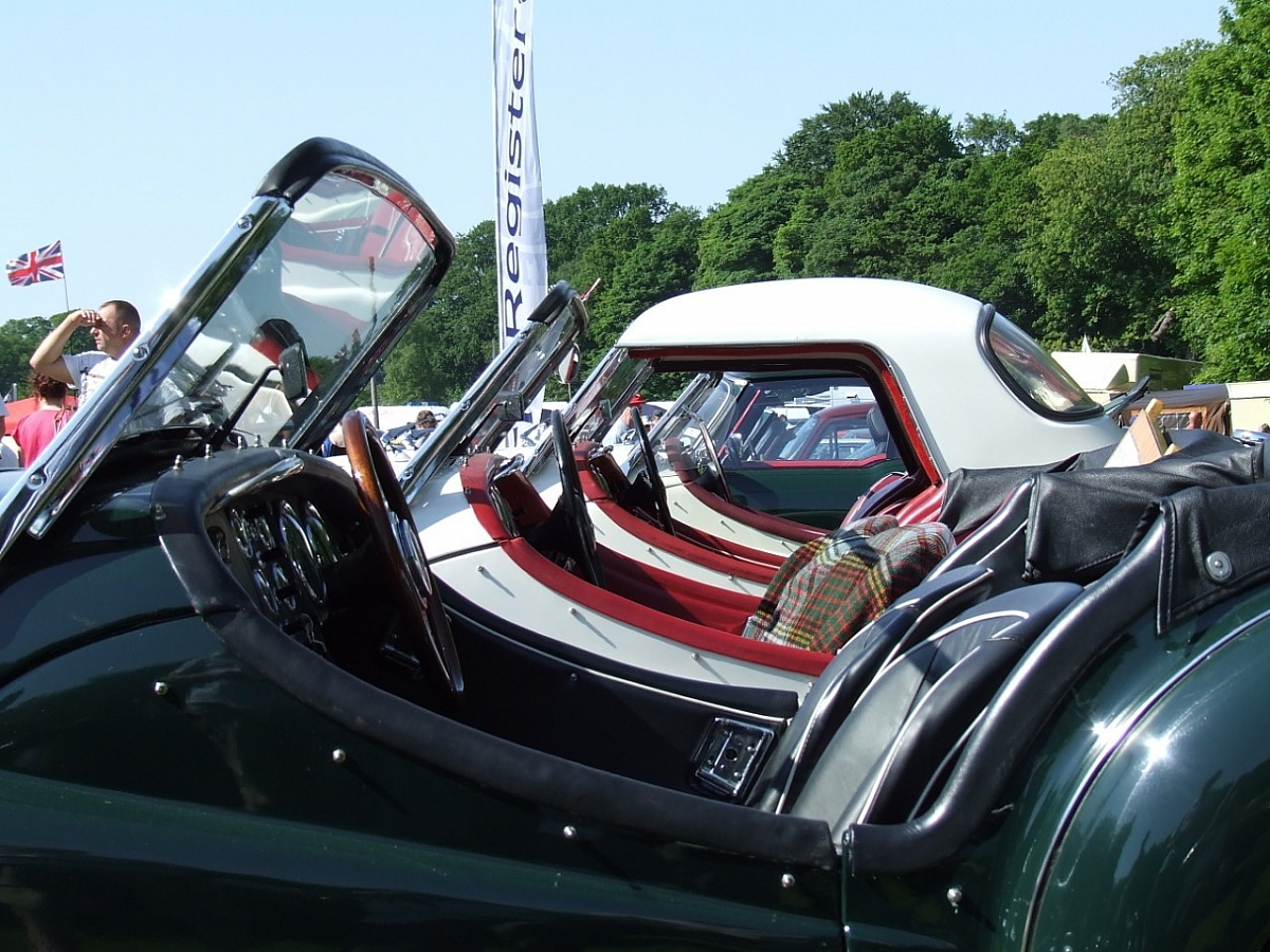 Red Rose Group - Tatton Park - Classic & Performance Car Spectacular & Cheshire Autojumble