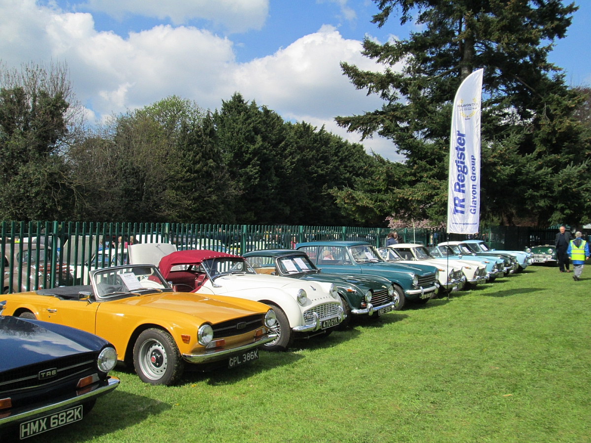 Glavon Group at Wheelnuts Classic Motor Show, Stroud.