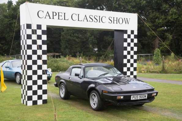 Thames Valley visit to the Capel Classic Car and Bike Show
