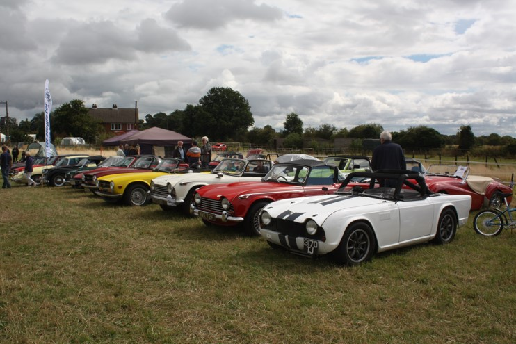 Stafford and Warwick Group - Lupin Farm Classic Car Show