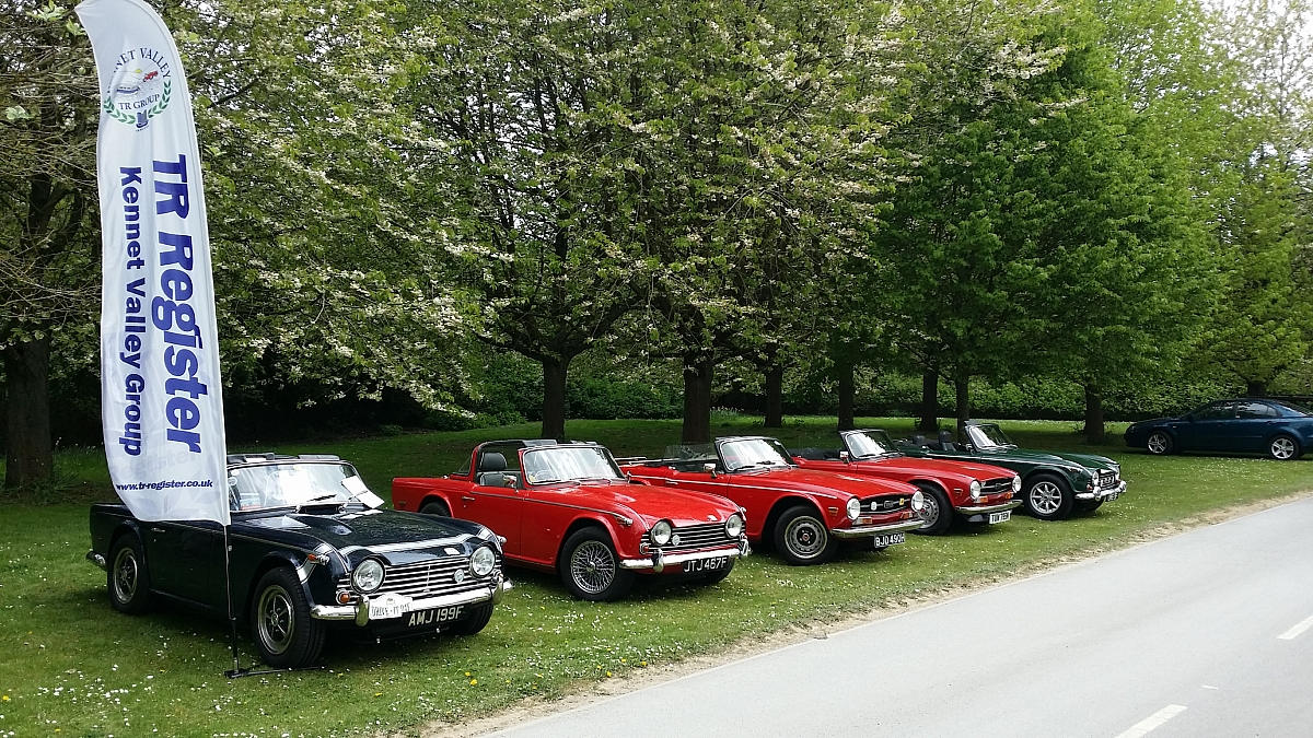 Kennet Valley TR Group - 1st Classic Car Show - Notcutts