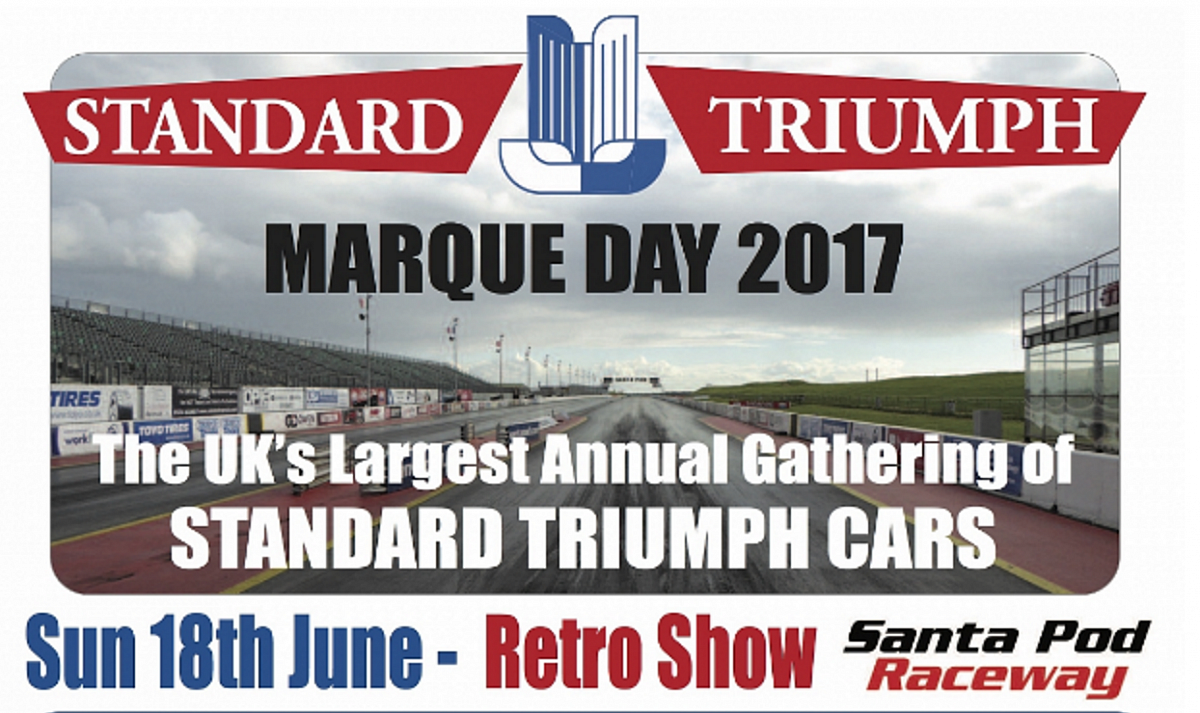 Standard Triumph Marque Day At Santa Pod 18th June - Entries closed