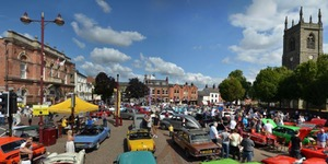 TR Lincs run to Ilkeston Classic Vehicle Show