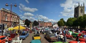 TR Lincs run to Ilkeston Classic Vehicle Show