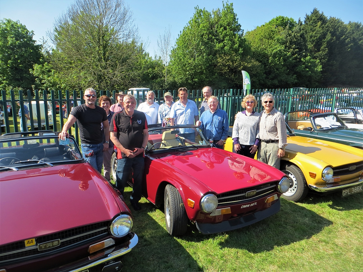 Wheelnuts Classic Car Show, Stroud - 7th May 2017