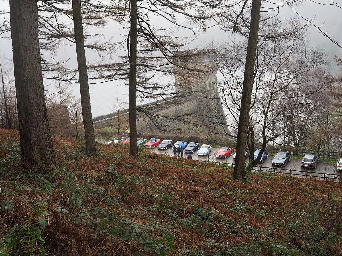 Derwent Dam Overspill
