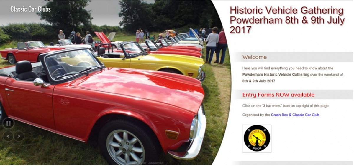 Devon Group - Powderham Historic Vehicle Gathering