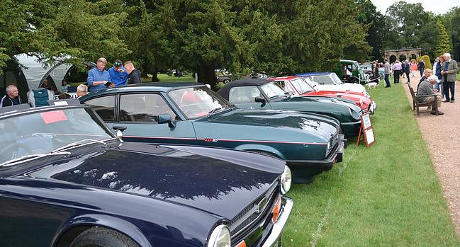 Stafford & Warwick - Trentham Gardens Classic Car Day