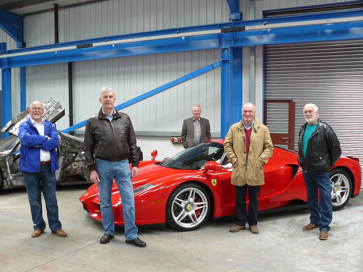 Ferrari visit