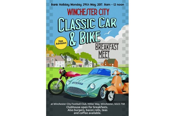 Winchester City Classic Car & Bike Meet - 29th May 2017