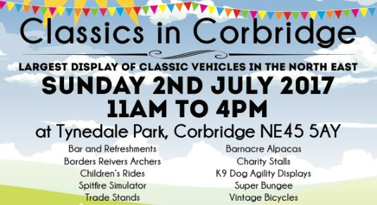 Northumbria Group - Corbridge Car Show