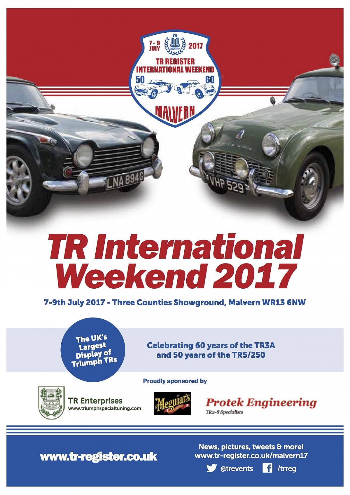 TR International Weekend Programme