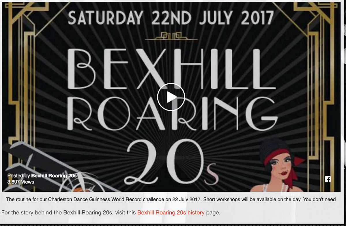 Bexhill Roaring 20's - Entries closed